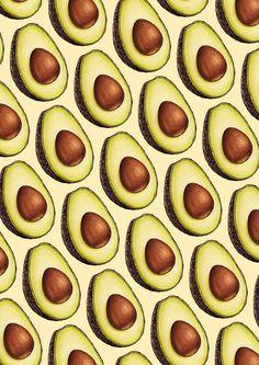 Avocado Pattern by Kelly  Gilleran                                                                                                                                                                                 More
