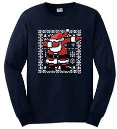 Canvas High Top Sneaker Casual Skate Shoe Boys Girls Ugly Christmas Dabbing Santa Through The Snow