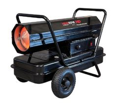 Kerosene Forced Air Heater Salamander Portable Wheeled Torpedo Heating 175K BTU  #ForcedAirHeater