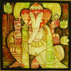 Ganesha Drawing, Lord Ganesha Paintings, Ganesha Art, Ganesh Tattoo, Sri Ganesh, Cute Canvas Paintings, Indian Art Paintings, Mythology Paintings, Acrylic Painting Inspiration
