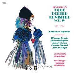Harvey Schmidt 1979 Ben Bagley's Cole Porter Revisited, Vol. IV [Painted Smiles PS-1371] #albumcover #fashion