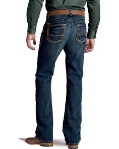 Ariat Denim Jeans - Breakaway Low Rise Bootcut - Big and Tall