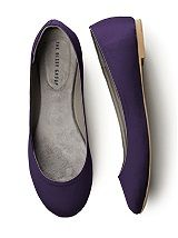 purple wedding flats. They will look so cute!
