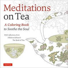 Meditations on Tea Adult Coloring Book Review: If you're a fan of culture and literature then you'll truly enjoy this artful Japanese coloring book. There are over 90 traditional Japanese designs celebrating life from a tea ceremony to making a cup to soothe a distraught mind. With images to suit every mood, you're sure to find the perfect coloring page. Quotes from the book are strewn throughout, making your coloring experience a positive one.