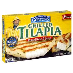 This isn't a recipe, but I had to pin it.  Tried these today--2 Weight Watchers points for one fillet.  They are SOOOO good!  I am very much NOT a fish person. Gortons Roasted Garlic and Butter Grilled Tilapia