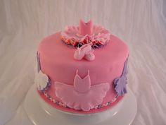 Ballet Birthday Cake Pink & Purple
