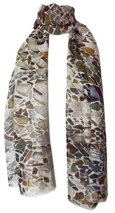 Camouflage Linen Cotton Scarf SS14