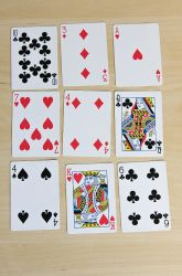 Activities: Plan Ahead: A Math Card Game--GREAT FUN way to start a math lesson on anything! MamaPat