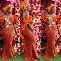 Image may contain: 3 people Nigerian Lace Styles Dress, African Lace Styles, Lace Dress Styles, African Wear Dresses, Latest African Fashion Dresses, African Attire, Ankara Styles, African Style, Lace Dresses