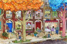 (2015-05) Hvad gør de på gaden / i husene?