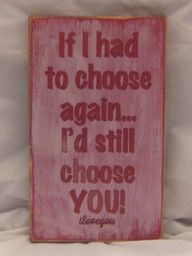 I Love You Sign Valentines Day Sign Antiqued by ExpressionsNmore, $19.95