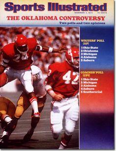 Football, University of Oklahoma Sooners