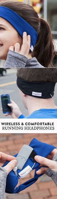 These headphones can't fall out of your ears or irritate them while you're exercising. This headphone headband will be your new favorite workout companion. #Motivation