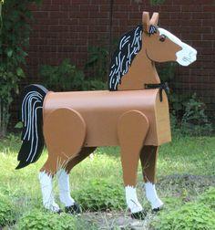 #Horse Lover Mailbox