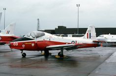 Belonging to 1 FTS at Linton-on-Ouse, Jet Provost is pictured in the static at RAF Mildenhall on May It was exported to the USA and became and now resides at the Craven Community College, in Haveloc, North Carolina. Royal Air Force, Community College, Military Aircraft, Fighter Jets, Aviation, Postwar, Airplane, Planes, Wings