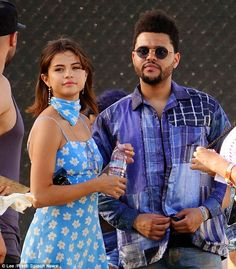 Why Selena Gomez and The Weeknd were the best-dressed couple at the 2017 Coachella Music Festival's first weekend of shows. Selena And Abel, Selena Gomez The Weeknd, Selena Gomez Dress, Selena And The Weekend, Look Festival, Festival 2017, Coachella Looks, Coachella Dress, Marie Gomez