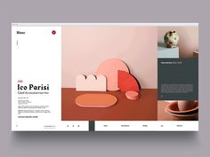 Dribbble Trend — Mondrianizm – Muzli -Design Inspiration #MobileWebDesign