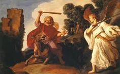 El profeta Balaam y su burra es una obra de Rembrandt que data de su época de Leiden. Fue en 1625 cuando Rembrandt abrió un estudio allí y comenzó a pintar.