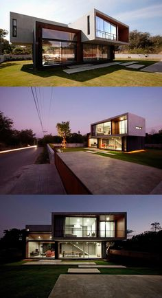innovative W House in Nakhon Ratchasima, Thailand.