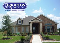 Brick and Stone Exterior Combination | Brighton Homes® |  www.brightonhomes.com