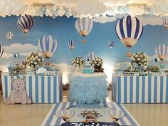 Baby shower decorations for boys decor babyshower signs 33 New Ideas Cute Baby Shower Ideas, Baby Shower Decorations For Boys, Boy Baby Shower Themes, Baby Shower Balloons, Baby Shower Parties, Birthday Decorations, Baby Boy Shower, Baby Decor, Teddy Bear Party