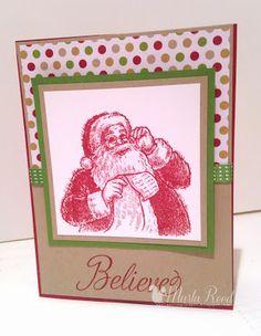 Marla's Stampin' Spot- Santa's List- Stampin' Up-Christmas
