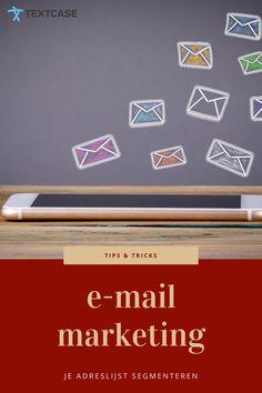 E-mailmarketing is een uiterst krachtig kanaal om een duurzame relatie met klanten op te bouwen en de verkoop aanzienlijk te stimuleren. Je e-mails personaliseren en je lijst segmenteren is daarvoor super belangrijk. Wij leggen je uit hoe je dit doet en wat de voordelen zijn! #email #e-mail #marketing #tips #tricks