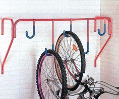 Mottez 5 Bike Wall Mount