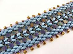 free super duo beading patterns | Tila and Superduo Bracelet