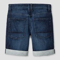 Boys' Jean Shorts - Cat & Jack Dark Blue 18