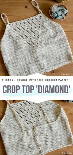 Boho Crop Tops Free Crochet Patterns - Free Crochet Patterns It's time to start thinking about summer. Really, if you want to be prepared for hot season, you better start making yourself some cute crocheted items Crochet Hippie, Pull Crochet, Crochet Bra, Mode Crochet, Crochet Woman, Crochet Clothes, Crochet Mandala, Crochet Shorts Pattern, Mandala Pattern