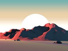Mountains of Serenity-Mark Kirkpatrick Artfullywalls.com Mkeverydays.tumblr.com