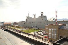 Portaaeronaves 'Juan Carlos I': así es la fuerza embarcada del buque insignia de la Armada