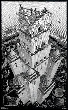 Black and White: M.C. Escher's Wood Block Prints
