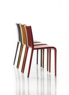 Air moulded polypropylene chair.