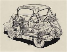 BZ's BMW Isetta 300 restoration and microcar blog  -  Warning: For serious microcar geeks only