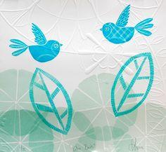 tactile bluebird by Annie Smits Sandano - beauty