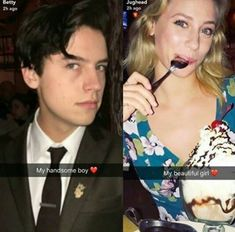 R they dating in real life? Bughead Riverdale, Riverdale Funny, Riverdale Memes, Archie Comics, The Cw, Riverdale Betty And Jughead, Cole Spouse, Lili Reinhart And Cole Sprouse, Zack E Cody