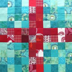 Controlled Chaos Scrap Quilt - block 18