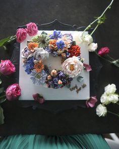 Buttercream Flower Cakes