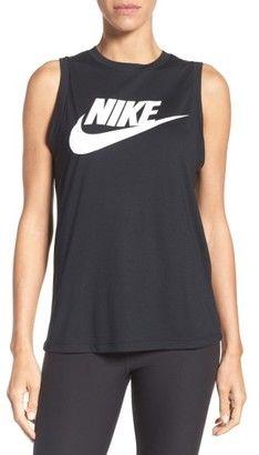 Women's Nike Sportswear Essential Muscle Tank #nike