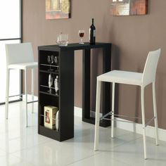 104028 - Bar Units and Bar Tables Small Bar Table with Storage Shelves | *buy & 118 best Bar Pubs images on Pinterest | Pub tables Dining room ...
