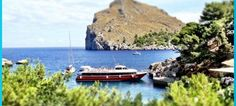 La Calobra  and the boat ready to go to Puerto Soller