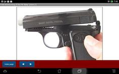 """FN """"Baby"""" pistol explained - Android APP - HLebooks.com"""