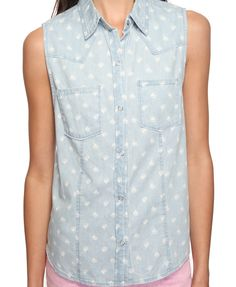Sailboat Chambray Button Up    Sailboats <3