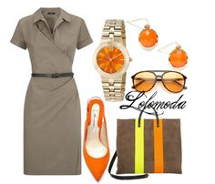To know where to find items in this #outfit here: http://lolomoda.com/casual-outfit-for-work-trend-2014/