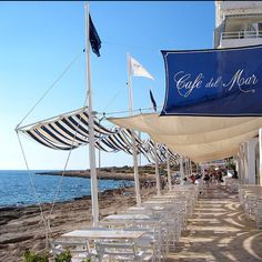 Cafe Del Mar - San Antonio Ibiza, Spain. The best place to watch the sunset in the world