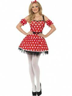 Fever Minnie Mouse Verkleedkostuum