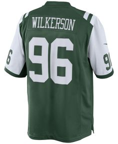 NFL Jersey's Men's New York Jets Muhammad Wilkerson Nike Green Team Color Limited Jersey