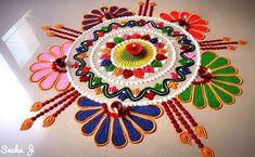 Latest Best Award Winning Rangoli Designs for Diwali with Diya & Flower Themes for Competitions, Simple Easy Deepavali Rangoli Patterns, Beautiful HD Images Rangoli Photos, Indian Rangoli Designs, Rangoli Designs Latest, Latest Rangoli, Simple Rangoli Designs Images, Rangoli Designs Flower, Rangoli Border Designs, Rangoli Patterns, Colorful Rangoli Designs